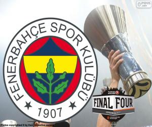 Puzle Fenerbahçe, vítěz Euroligy 2017