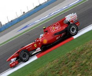 Puzle Fernando Alonso - Ferrari - Istanbul 2010 (Ferrari 800. Grand Prix)