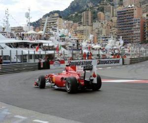 Puzle Fernando Alonso - Ferrari - Monte-Carlo 2010