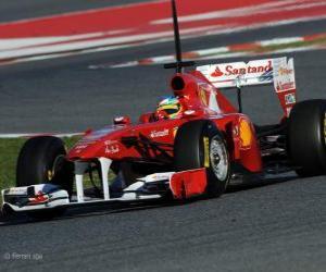 Puzle Ferrari 150º Italia - 2011 -