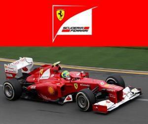 Puzle Ferrari F2012 - 2012 -