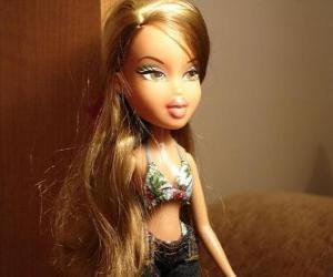 Puzle Fianna, je dívka milovníka vůní a módy elegantní a okouzlující, ona je brazilský