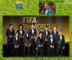 Puzle FIFA-FIFPro World XI 2015