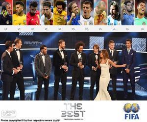 Puzle FIFA/FIFPro World11 2016