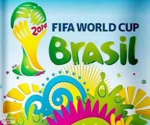 Puzle FIFA WORLD CUP Brasil 2014