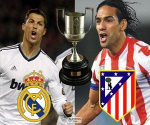 Puzle Finále poháru krále 2012-13, Real Madrid - Atletico Madrid