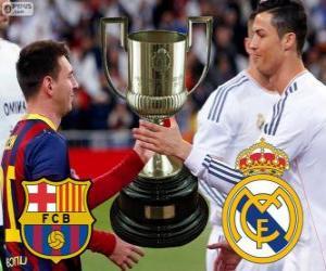 Puzle Finále poháru krále 2013-14, F.C Barcelona - Real Madrid