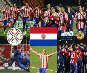 Puzle Finalista Paraguay, Copa América Argentina 2011