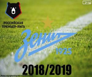 Puzle FK Zenit, mistr 2018 – 2019