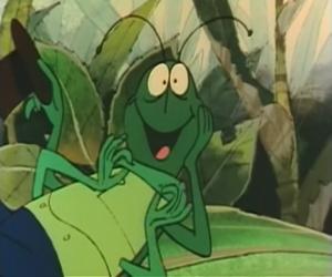 Puzle Flip je kobylku a věrný ochránce Maya.