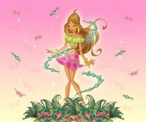 Puzle Flora, víla květin