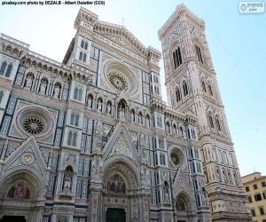 Puzle Florence katedrála, Itálie