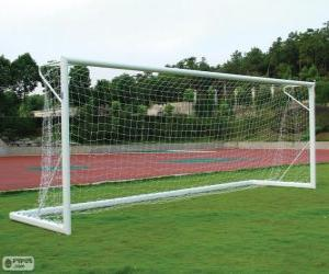 Puzle Football goal