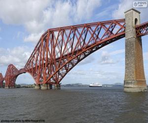 Puzle Forth Bridge, Skotsko