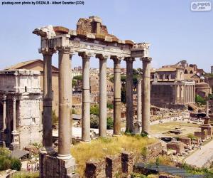 Puzle Forum Romanum, Řím