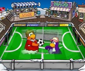 Puzle Fotbal Club Penguin