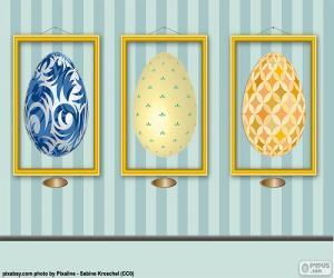 Puzle Fotky z velikonočních vajíček