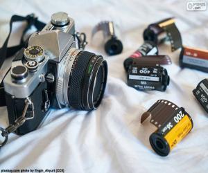 Puzle Fotografickém reflexní