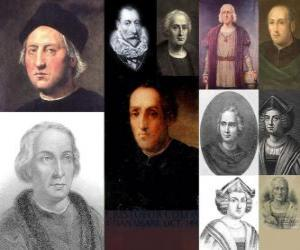 Puzle Fotografie Kryštof Kolumbus byl admirál ve vedení výpravy, která přišla do Ameriky v roce 1492