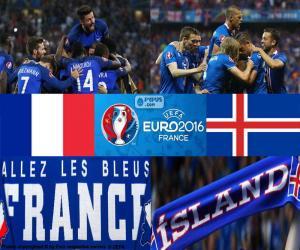 Puzle FR-IS, čtvrtfinále Euro 2016