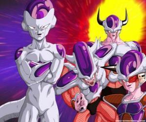 Puzle Frieza, supervillain a velký nepřítel Goku mohou žít plovoucí ve vesmíru