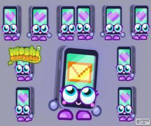 Puzle Gabby je jedním z Moshlings, vypadal jako iPhone nebo iPad. Tecno série