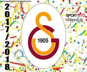 Puzle Galatasaray, Süper Lig 2017-2018