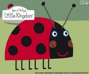 Puzle Gaston berušku, nejlepší přítel hmyzu od Bena a Holly