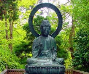 Puzle Gautama Buddha zasedání