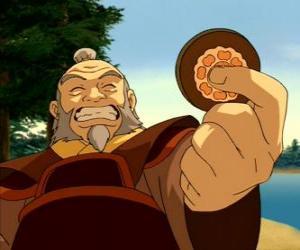 Puzle Generál ve výslužbě Iroh známý jako drak na Západě je Zuko strýce a rádce
