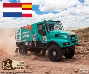 Puzle Gerard de Rooy, Dakar 2016