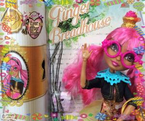 Puzle Ginger Breadhouse, Ever After High
