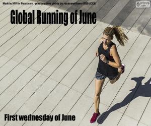 Puzle Globální běžecký den