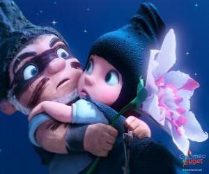 Puzle Gnomeo a Julie, ve scéně z filmu