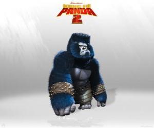 Puzle Gorily jsou svaly v armádě Lord Shen