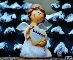 Puzle Guardian Angel, Vánoce