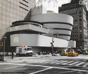 Puzle Guggenheimovo muzeum v New Yorku