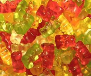 Puzle Gummy medvědi