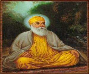 Puzle Guru Nának, též Báb Nának či jen Nának, zakladatel Sikhism