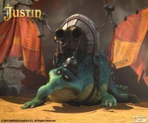 Puzle Gustav. Krokodýl, který chce létat a být drak