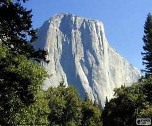 Puzle Half Dome, Yosemite, USA