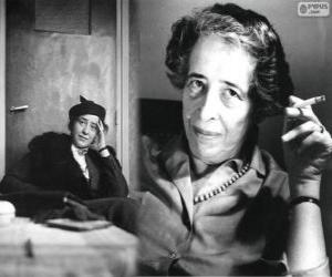 Puzle Hannah Arendtová, Německo-americký politický teoretik