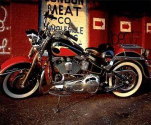 Puzle Harley Davidson Softail dědictví