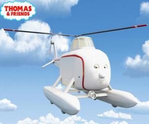 Puzle Harold je vrtulník s dobrým srdcem