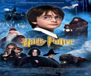 Puzle Harry Potter a Kámen mudrců
