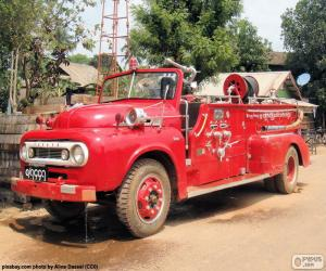 Puzle Hasičské auto, Barma
