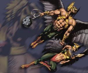 Puzle Hawkman nebo Hawkgirl