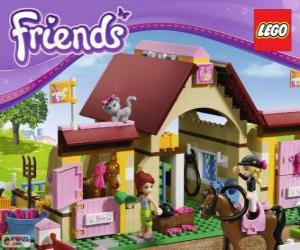 Puzle Heartlake Stables Lego Friends