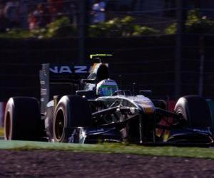 Puzle Heikki Kovalainen - Lotus - Suzuka 2010