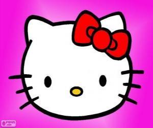 Puzle Hello Kitty šťastná